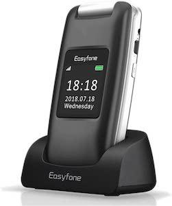 Easyfone A1 3G Unlocked Senior Flip Cell Phone