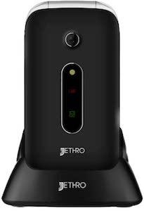 Jethro [SC330] 3G Unlocked Flip Senior & Kids Cell Phone