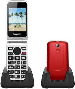 Uleway 3G Senior Flip Phone Unlocked with SOS Big Button Flip Phone