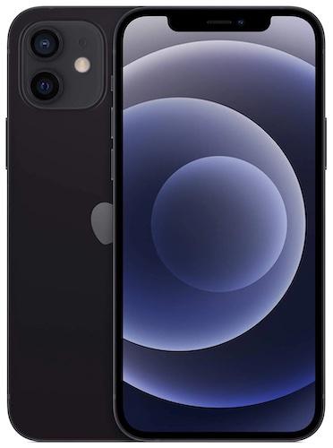 Apple iPhone 12 (64GB+128GB+256GB, Black)