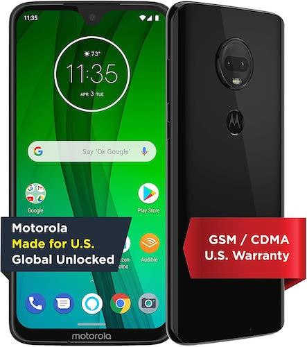 Moto G7 with Alexa Hands-Free – Unlocked – 64 GB